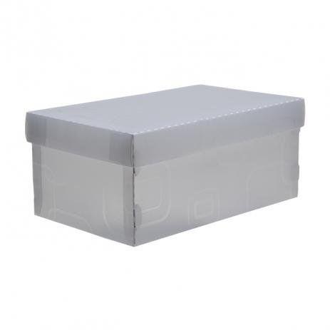 Caixa Multiuso Formato Sapato Cristal - Dello