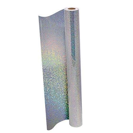 Plástico Adesivo DAC Holográfico PP 45cm X 10m  REF 1706