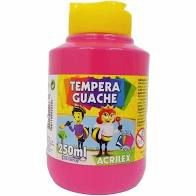Tinta Tempera Guache Acrilex 250ml - Rosa 537