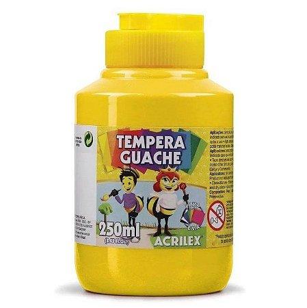 TINTA  Guache Amarelo Ouro Acrilex 250ml