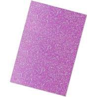 Folha De Eva 40X60Cm Glitter Roxo PTc/ 5 Unidades