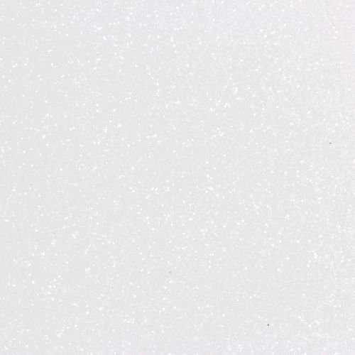 Placa de E.V.A Glitter - Branco - 40cmx60cm - BRW - PT c/ 5 UNID