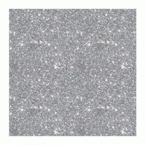 Eva Glitter 40x60CM - Prata - BRW - PT c/ 5 fls - Esp 2mm - Make+