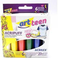 Tinta Para Tecido Acripuff