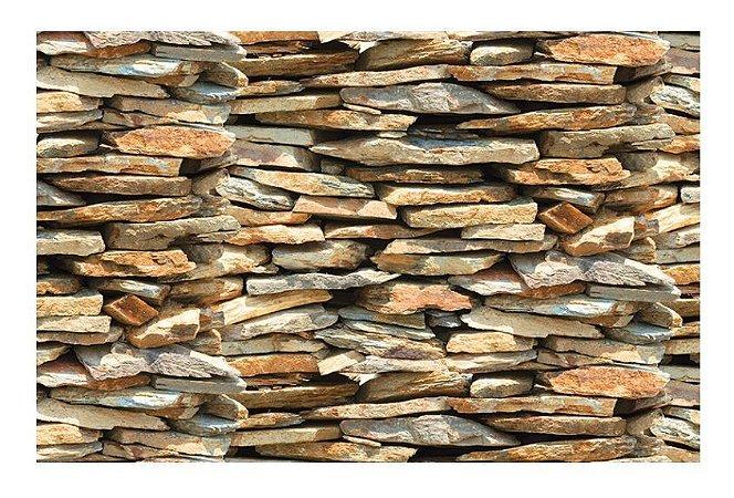 Plástico Autoadesivo Contact Pedra Nature 45cm x 10m PlastCover - Rolo