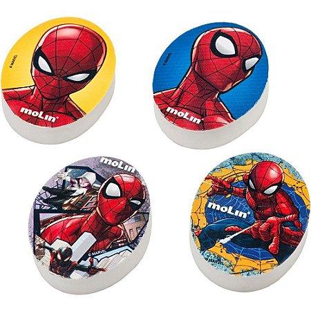 Borracha Fantasia Spider Man - Homem Aranha Molin estampa sortidas Com 01 Unidade