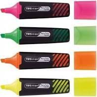 Marca Texto Tris Liqeo Pastel Kit 04 Cores Neon
