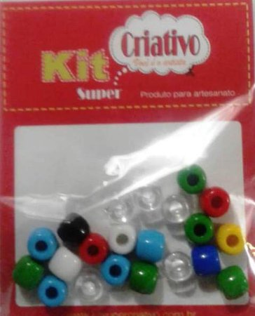 Terere Kit Super Criativo Redondo 10mm PT c/ 10 grs