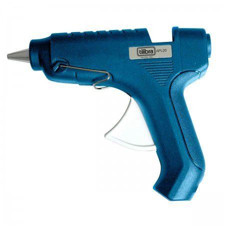 Pistola para Cola Quente Média APL20,Tilibra - 1 un