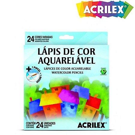 LAPIS COR 24 CORES L 0965424 AQUARELA