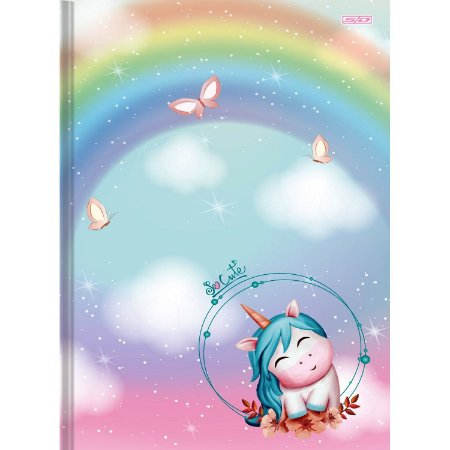 CADERNO BROC 1/4 CD 80F PT C/ 5 UNIDADES SO CUTE