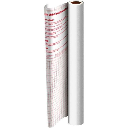 PLÁSTICO ADESIVO PVC 45cmX10mX0,08mm
