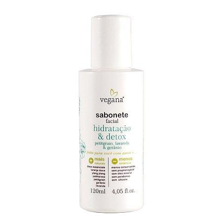Sabonete Facial Hidratação & Detox - 120ml