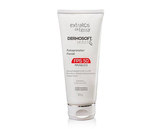 Dermosoft Protect Fotoprotetor Facial FPS 50 - 50 g
