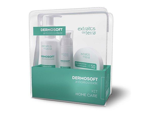 Dermosoft Antioleosidade Kit com Necessaire