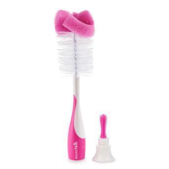 Escova de Mamadeira Rosa - Munchkin