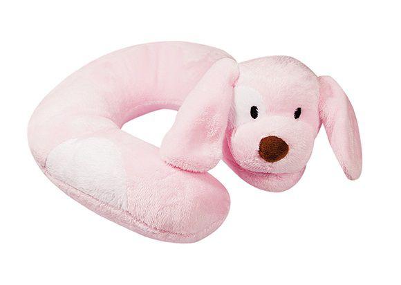Suporte de Pescoço Cachorro Rosa