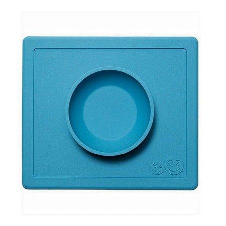 Jogo Americano de Silicone com Bowl Azul - Ezpz