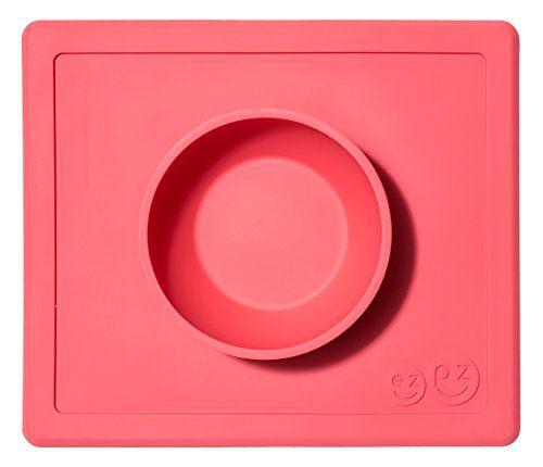 Jogo Americano de Silicone com Bowl Rosa - Ezpz