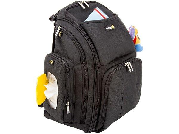Mochila Multifuncional Preta Backpack - Safety 1st