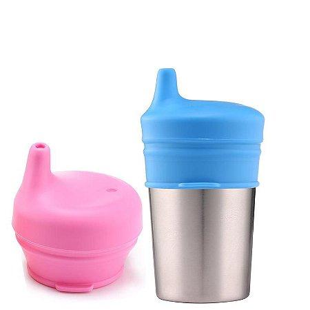 Bico para Copo de Silicone Sippy Cup - Kababy