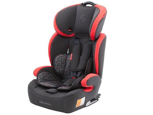 Cadeira para Auto Safemax Fix Vermelha 9-36kg - Fisher Price