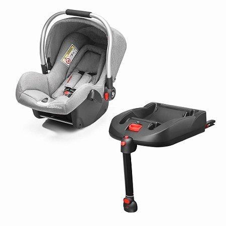 Bebê Conforto com Base ISOFIX Heritage Fix 0-13 Kg Cinza - Fisher Price