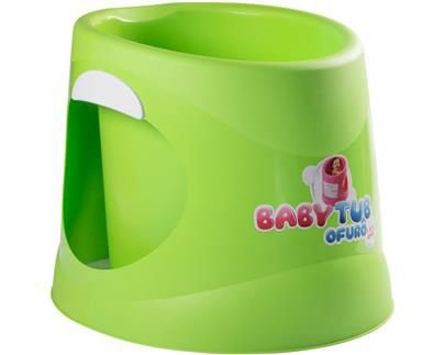Banheira Ofurô 1 a 6 anos Verde - Babytub
