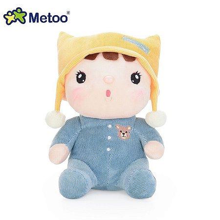 Boneco Metoo Doll Sweet Candy Bebê Azul