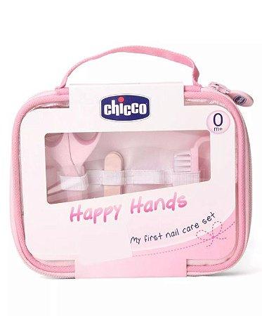 Kit Manicure para Bebê Rosa - Chicco