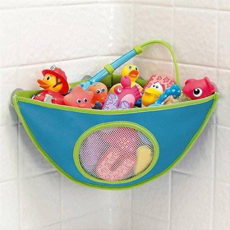 Organizador de Brinquedos para Banho Azul - Munchkin