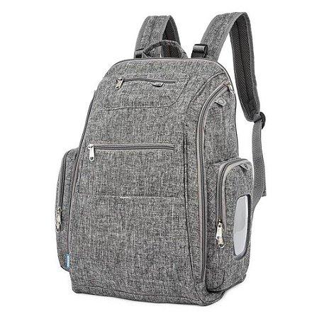 Mochila Maternidade Backpack  Cinza - Kababy
