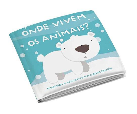 Livrinho de Banho Animais - Multikids