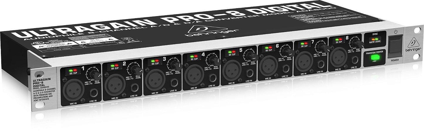 Interface Behringer ADA8000