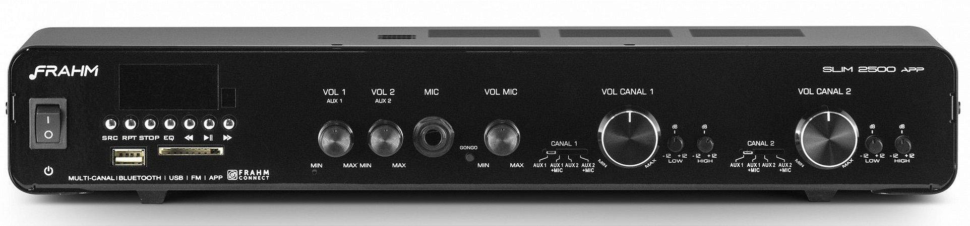Amplificador / Receiver Frahm SLIM 2500