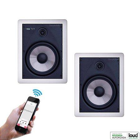 Caixa de Som Loud Audio Bluetooth LR6 BT-A (Ativa + Passiva)