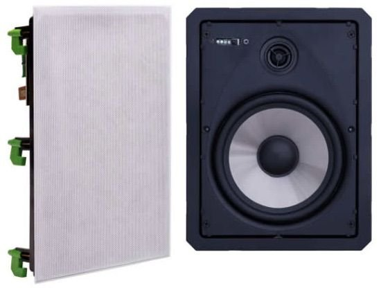 KIT Caixa de Som Bluetooth Loud Audio LR6 BT-A Ativa (1 ATIVA + 1 PASSIVA)