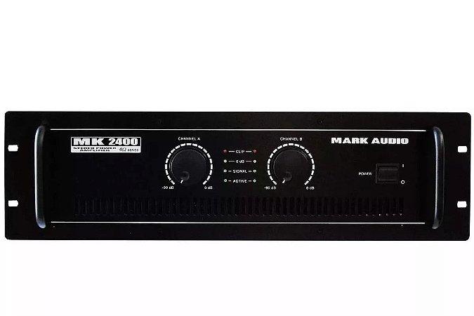 Amplificador Mark Audio MK2400