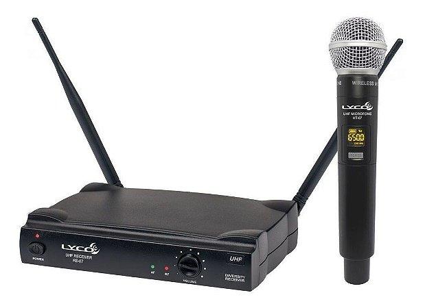 Microfone sem Fio para Voz Fio Lyco UH-07M