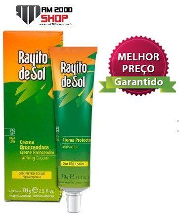 Bronzeador Rayito Del Sol 70g Atacado - Melhor Preço do Brasil