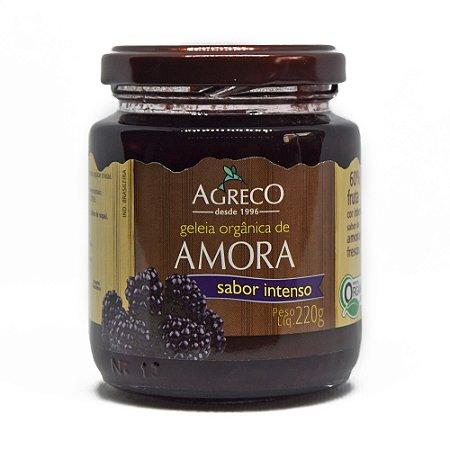 Geléia de amora orgânica Agreco - 220g