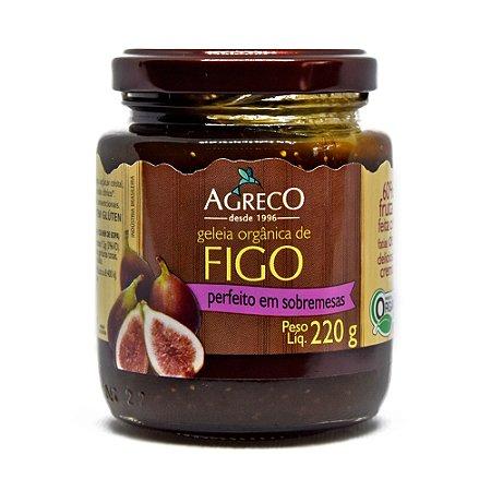 Geléia orgânica de figo Agreco - 220g