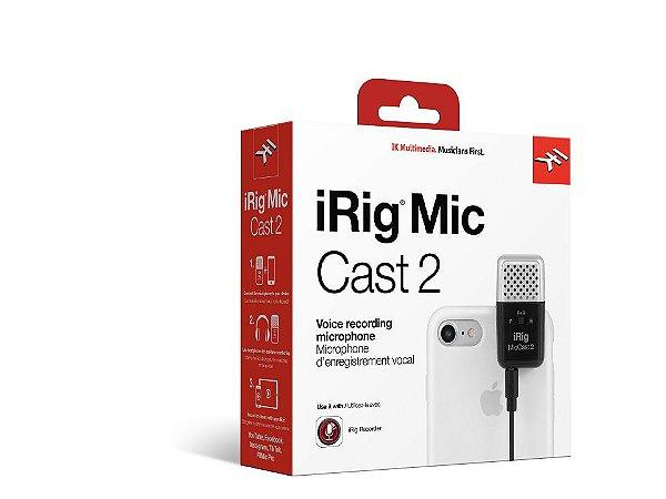 IRIG-MIC CAST 2 - MICROFONE ANALOGICO