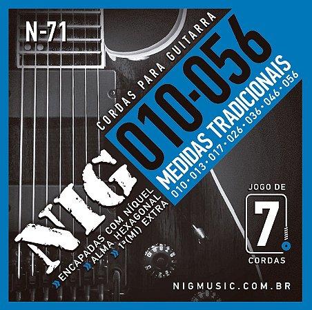 ENCORDOAMENTO GUITARRA NIG 0.10-056 N-71