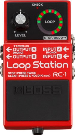 Pedal de Guitarra Boss RC-1 LOOP STATION RED