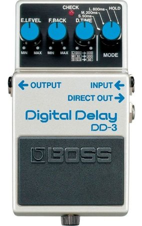 Pedal de Guitarra Boss DD-3 DIGITAL DELAY