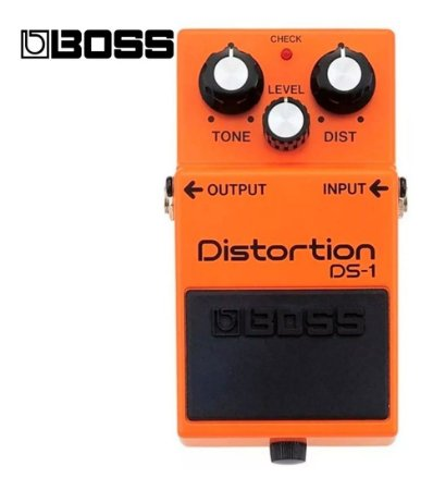 Pedal de Guitarra Boss Distortion Ds-1
