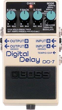 PEDAL DE GUITARRA BOSS DIGITAL DELAY DD7
