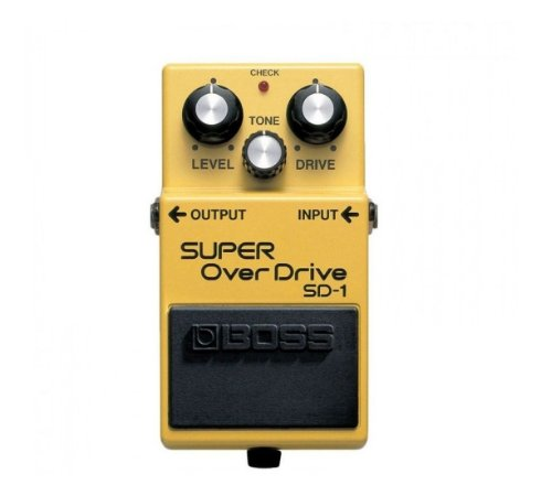PEDAL DE GUITARRA BOSS SD-1 SUPER OVERDRIVE SD1