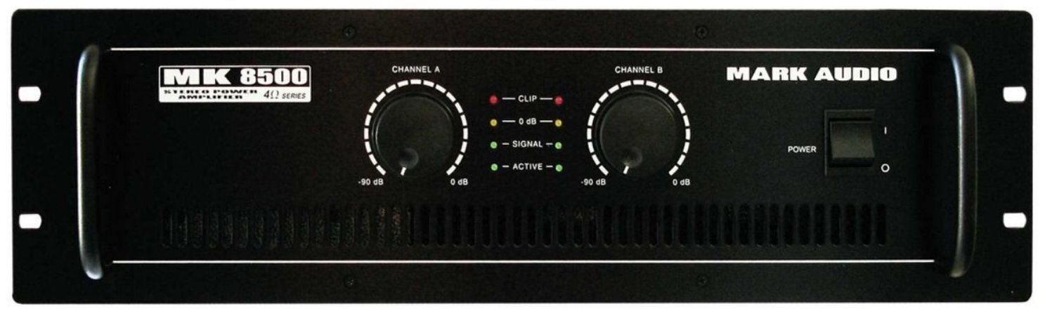 AMPLIFICADOR DE POTENCIA MARK AUDIO MK-8500 PRO